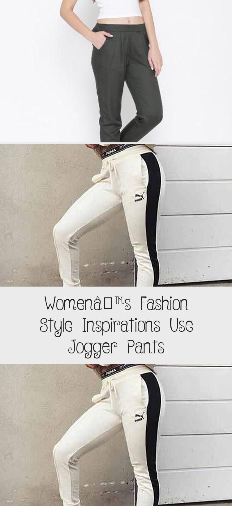 Women S Fashion Style Inspirations Use Jogger Pants Women Fashion Outfit Pants Style Styles Woman In 2020 Jogger Pants Jogger Pants Style Black Jogger Pants