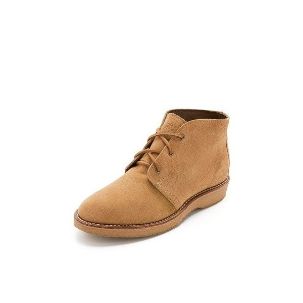 Wolverine 1000 Mile Palmer Suede Chukka Boots (400 CAD) ❤ liked on Polyvore  featuring men's fashion, men's shoes, men's boots, camel suede, ...