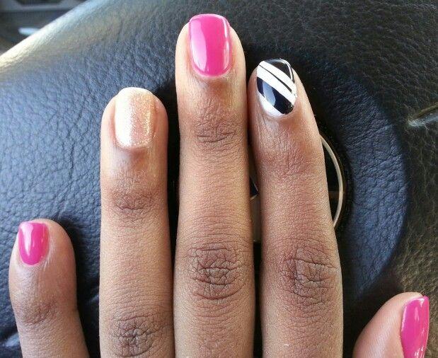 Nail art simple natural nails