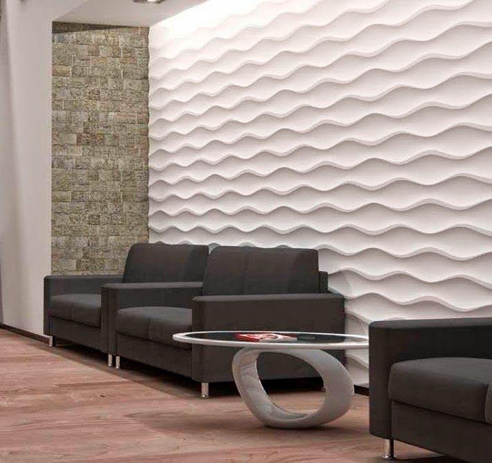 مجلة جمال حواء ديكورات جبس حوائط Wall Cladding Home Interior Design Mdf Wall Panels