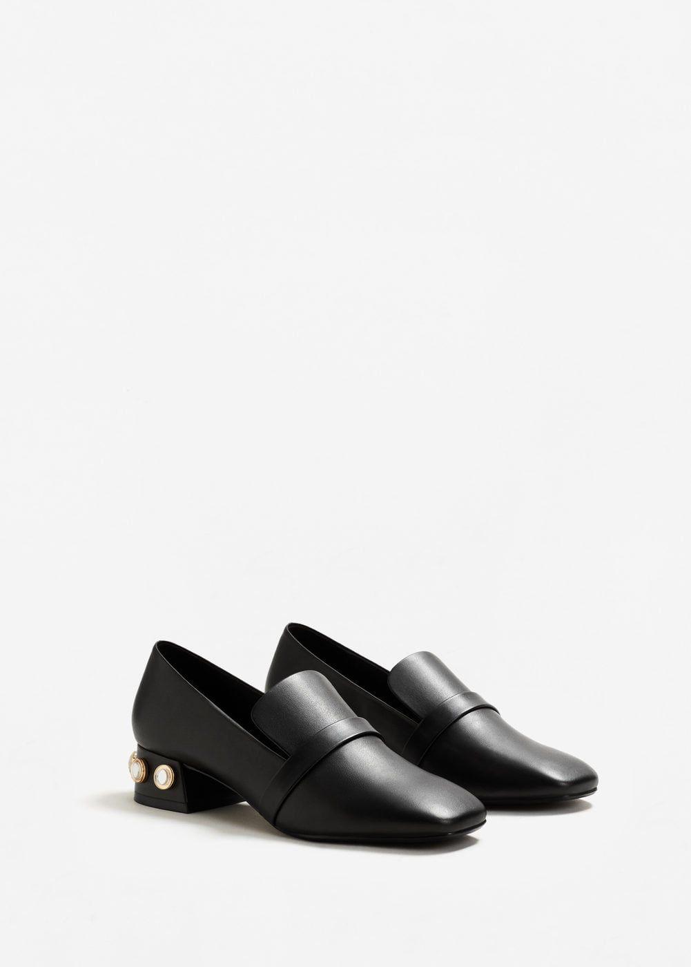 loafers med klack