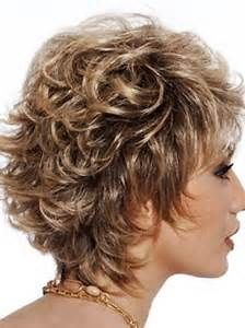 Short Curly Hairstyles For Round Faces Beauteous Short Layered Hairstyles For Women Over 50 With Round Faces  Bing