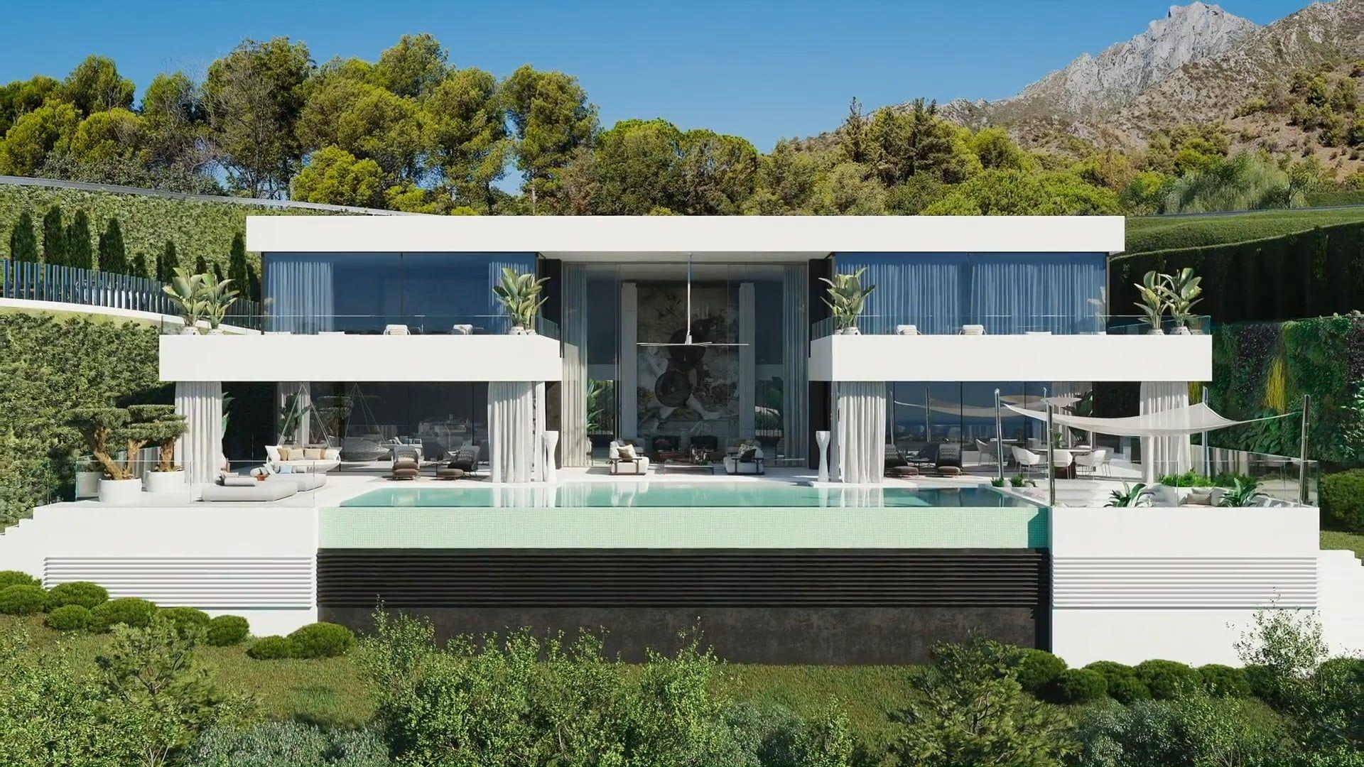 Mas443050 New Award Winning Luxury Villa In Marbella Marbella Villas Architecture Villa Design