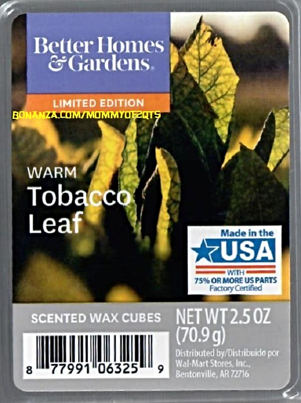 excellent better homes and gardens scented wax cubes. Warm Tobacco Leaf Better Homes and Gardens Scented Wax Cubes Melts