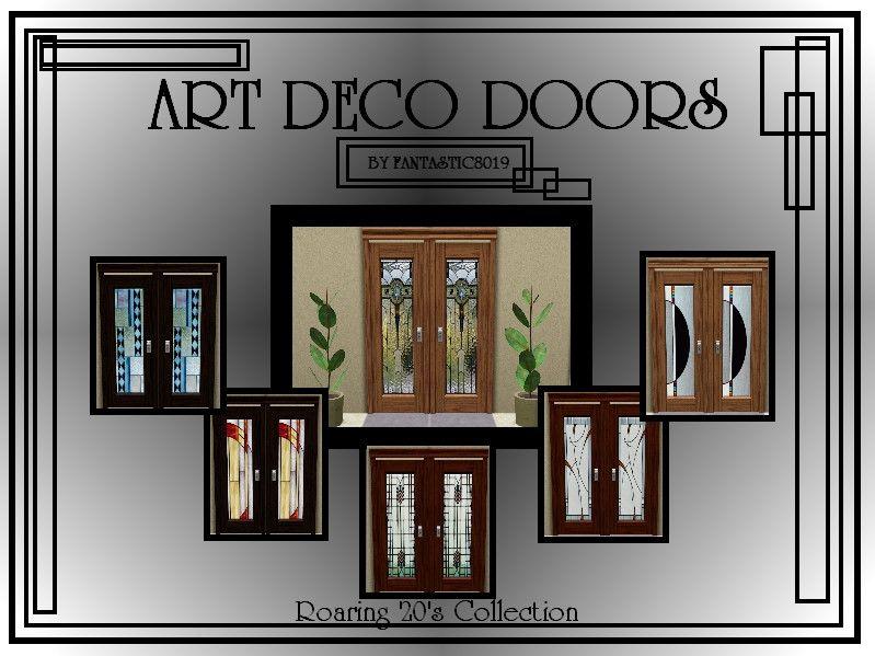 fantasticSims' Art Deco Door - Roaring 20's