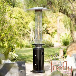 12kW Flame Column Gas Patio Heater in