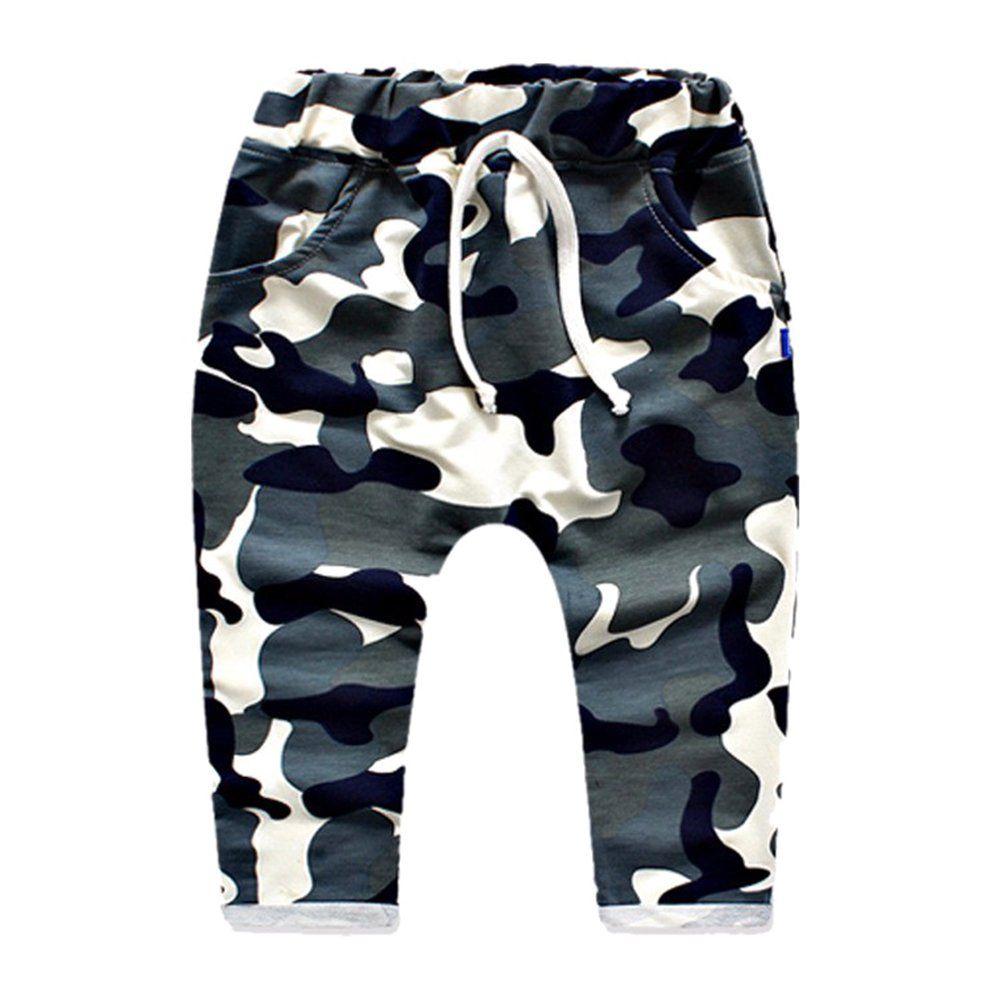 Yying Haremshose Fur Baby Kinder Mode Camouflage Hosen Weich Elastische Taille Casual Lange Hose Mit Taschen Fur Madche In 2020 Camouflage Hosen Kinder Hosen Kind Mode