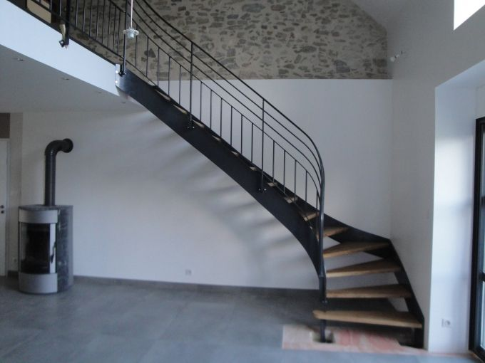 Mdpr Metallerie Du Pays Rochois Escalier Metal Metallerie