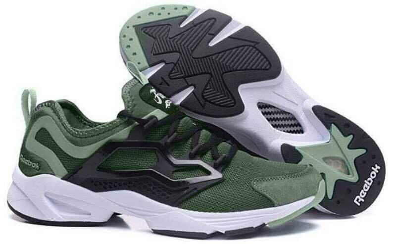 Reebok Fury Adapt Men's Running Shoe - Army Green/Black