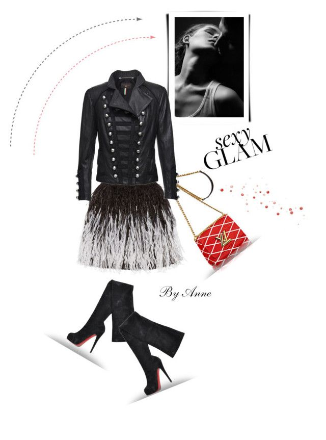 """""""Sexy Glam"""" by anne-977 ❤ liked on Polyvore featuring Alice + Olivia, Christian Louboutin and Benedetta Novi"""