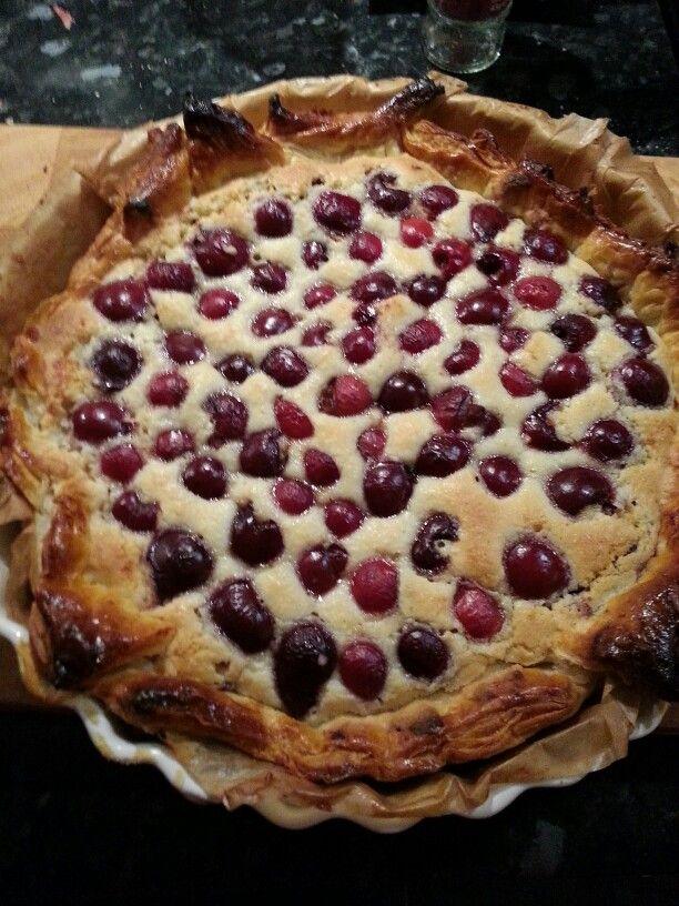 My cherry bakewell.