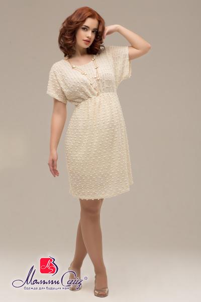 c0cecd95fb03 Платье нарядное для беременных «букле» с атласным поясом, арт. 50232320
