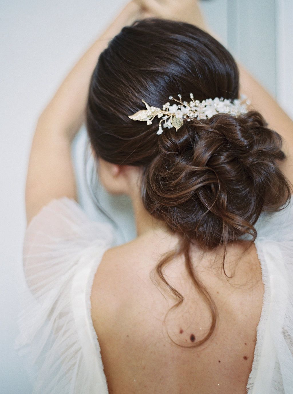 bridal accessories | bridal hair piece | all about romance