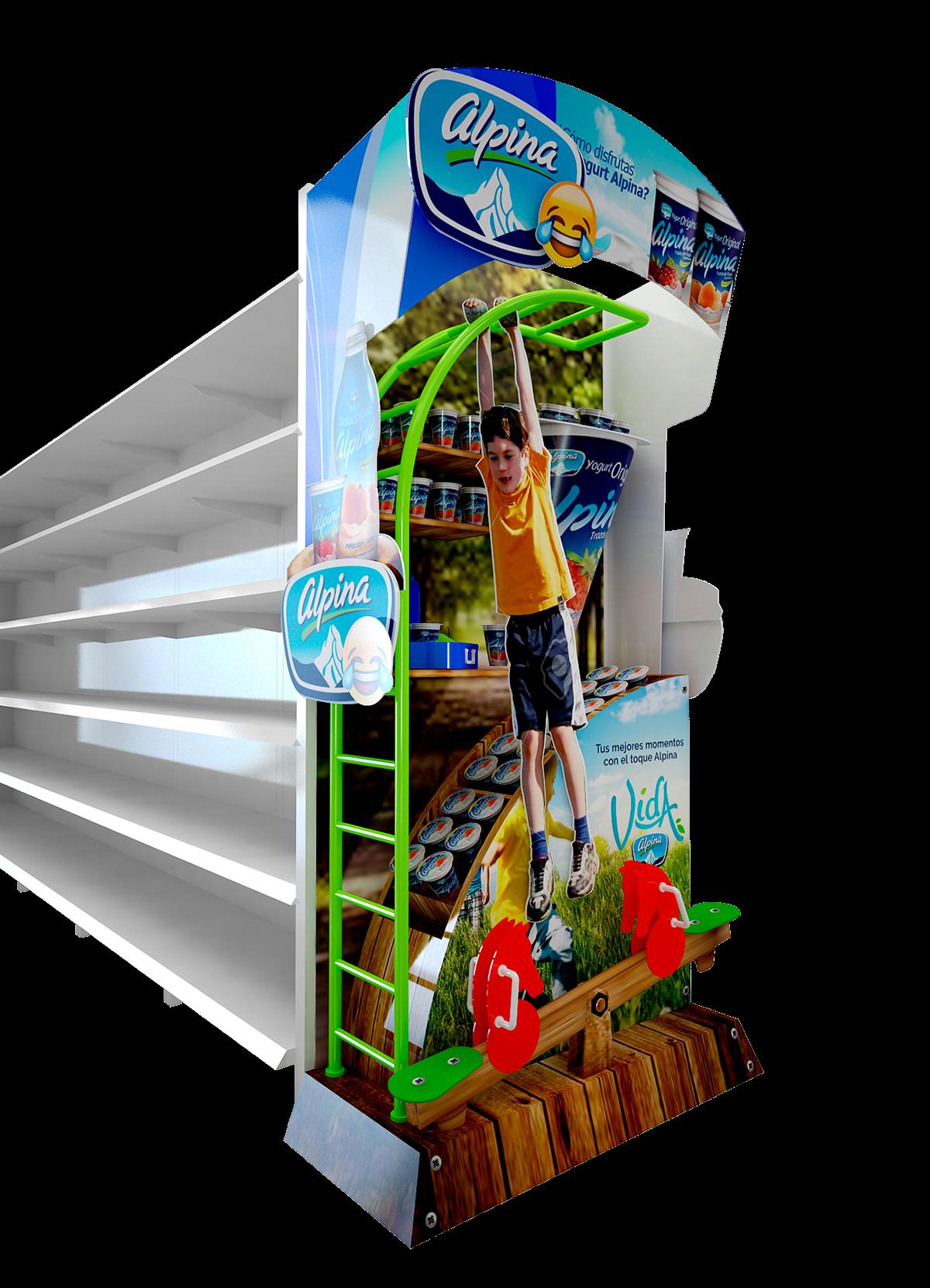 Dise o de material publicitario en puntos de venta plv for Diseno publicitario