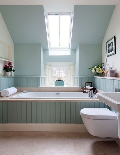 10 Tips For Chic Little Bathrooms Green Bathroom Shabby Chic Bathroom Blue Bathroom