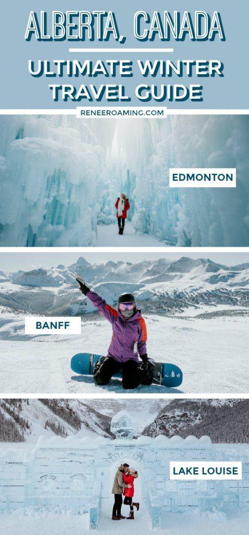 Ultimativer Winterreiseführer für Alberta, Kanada – 7-tägige Reiseroute   – Canada