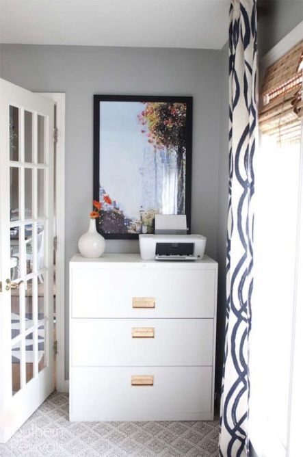 Ikea Home Office Library Ideas: 56+ Ideas For Home Library Ikea Office Makeover #home