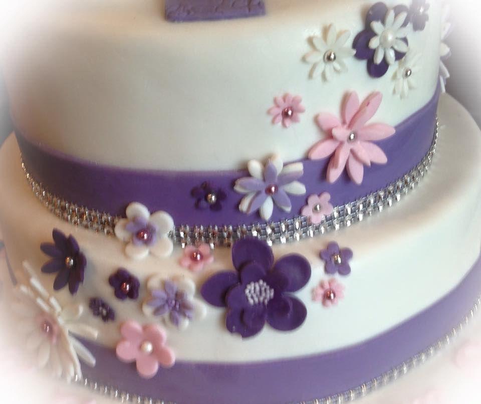 fondant torte blumen dekoration fondant cake flower decoration torten pinterest torten. Black Bedroom Furniture Sets. Home Design Ideas
