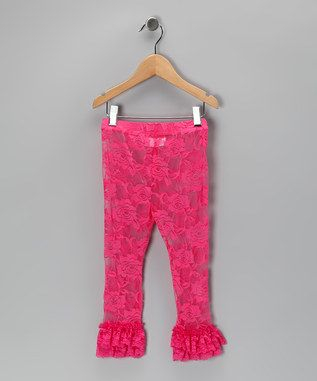 Lovely Lace Leggings on #zulily today