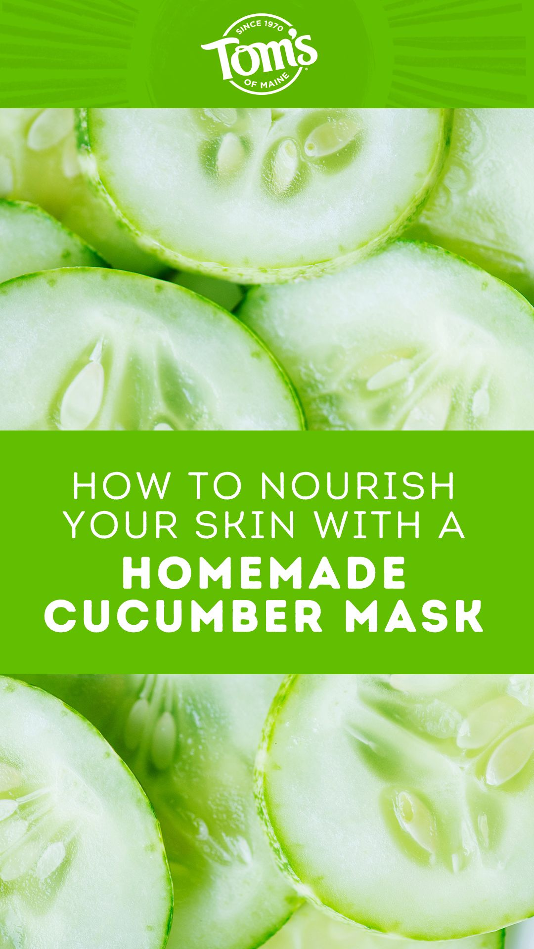 Photo of How to Nourish Your Skin with a Homemade Cucumber Mask