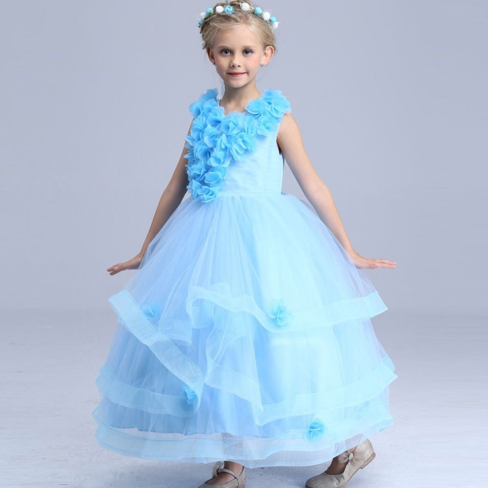 Flower Fairy costumes summer dress for children party princess Halloween Costume for kids Flower girl dance  sc 1 st  Pinterest & Flower Fairy costumes summer dress for children party princess ...
