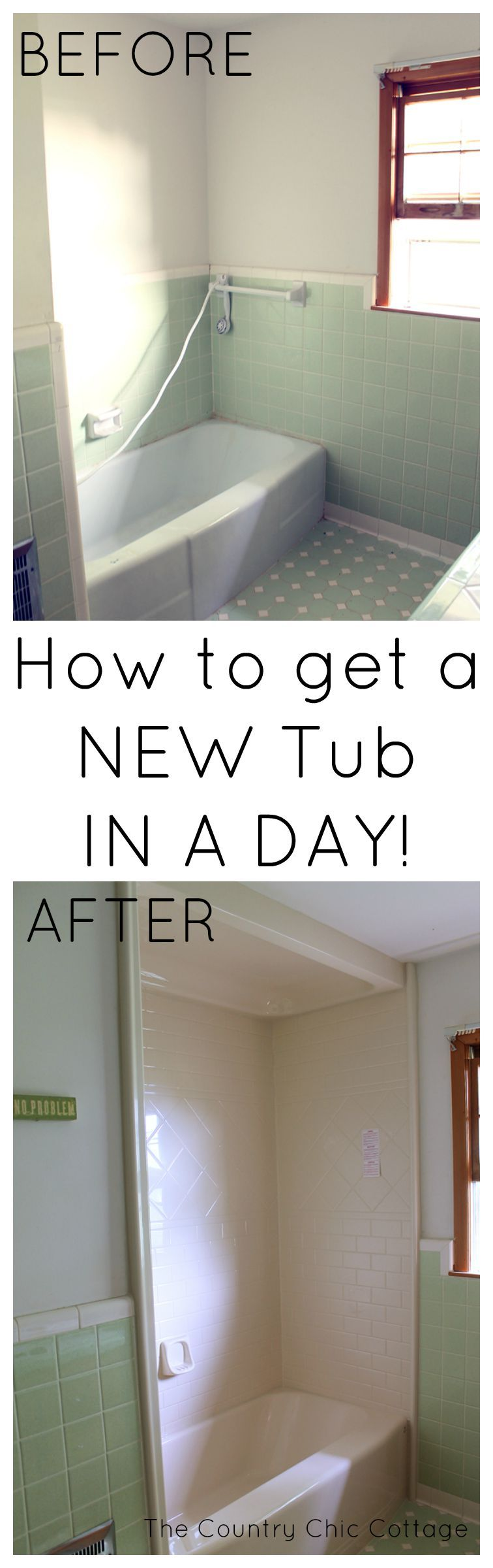 Get A New Tub In A Day With Bath Fitter Bathroom Remodel Small Shower Small Bathroom Remodel Bathtub Remodel