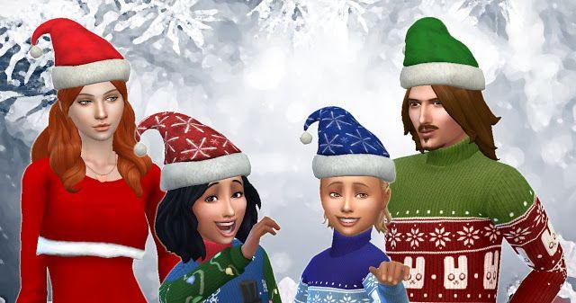 CAS / Homme / Femme / Enfant / Chapeau de Noël