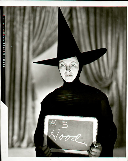 Gale Sondergaard - the original actress cast as the Wicked Witch in Wizard of Oz