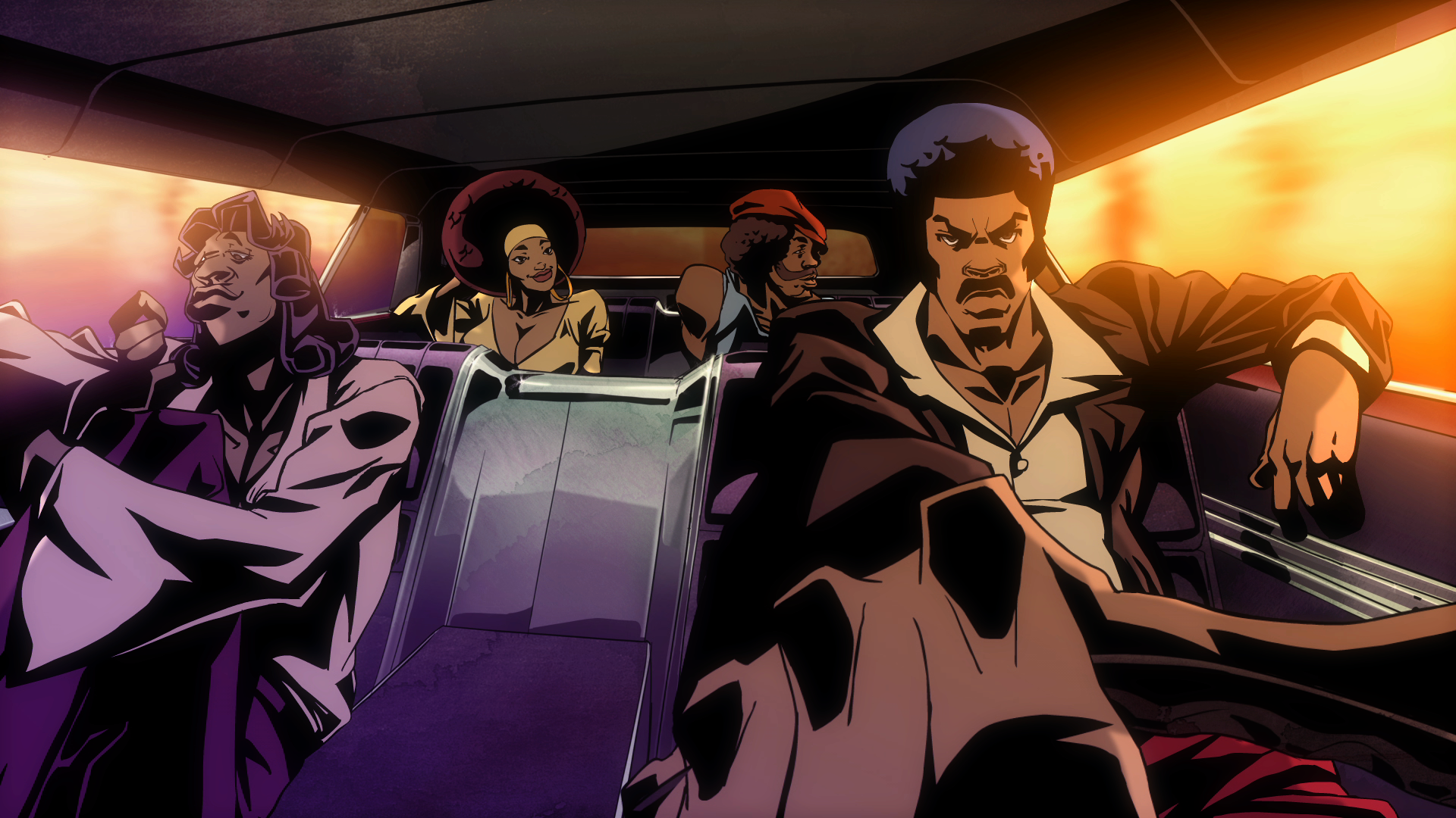 The Unaired Pilot Episode Of New Black Dynamite Animated Series Has Hit Internet Courtesy Adult Swim Who Will Be Premiering In