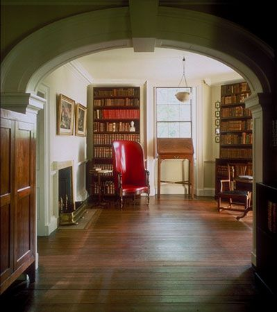 Library book room thomas jeffersons monticello