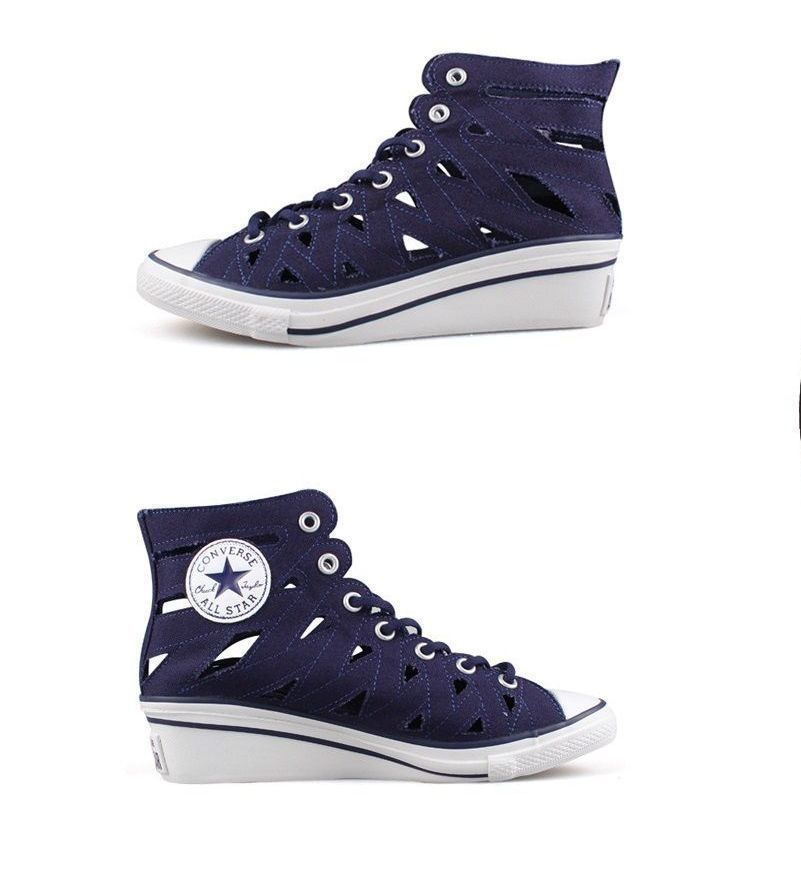 15af77133f8 Converse Chuck Taylor All Star Women s Hi-Ness Cutout Wedge Fashion Sneakers   Converse  FashionSneakers