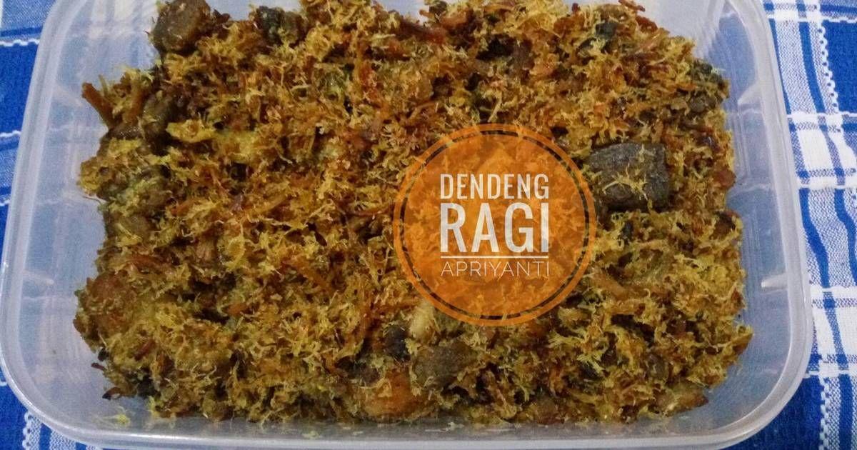 Resep Dendeng Ragi Daging Sapi Serundeng Oleh Apriyanti Arifin Resep Dendeng Makanan Daging Sapi