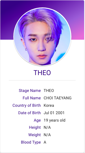 Theo P1harmony Profile Kpop Hallyu Idol Taeyang Audition Songs How To Memorize Things