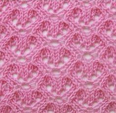 point tricot ajour point de tricot pinterest points tricot et point de tricot. Black Bedroom Furniture Sets. Home Design Ideas