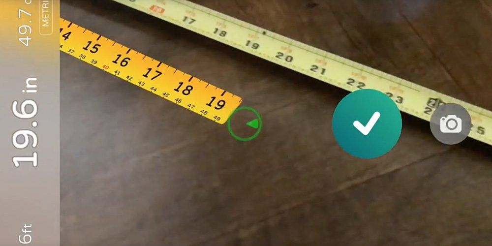 Simple but brilliant tape measure apps show just how