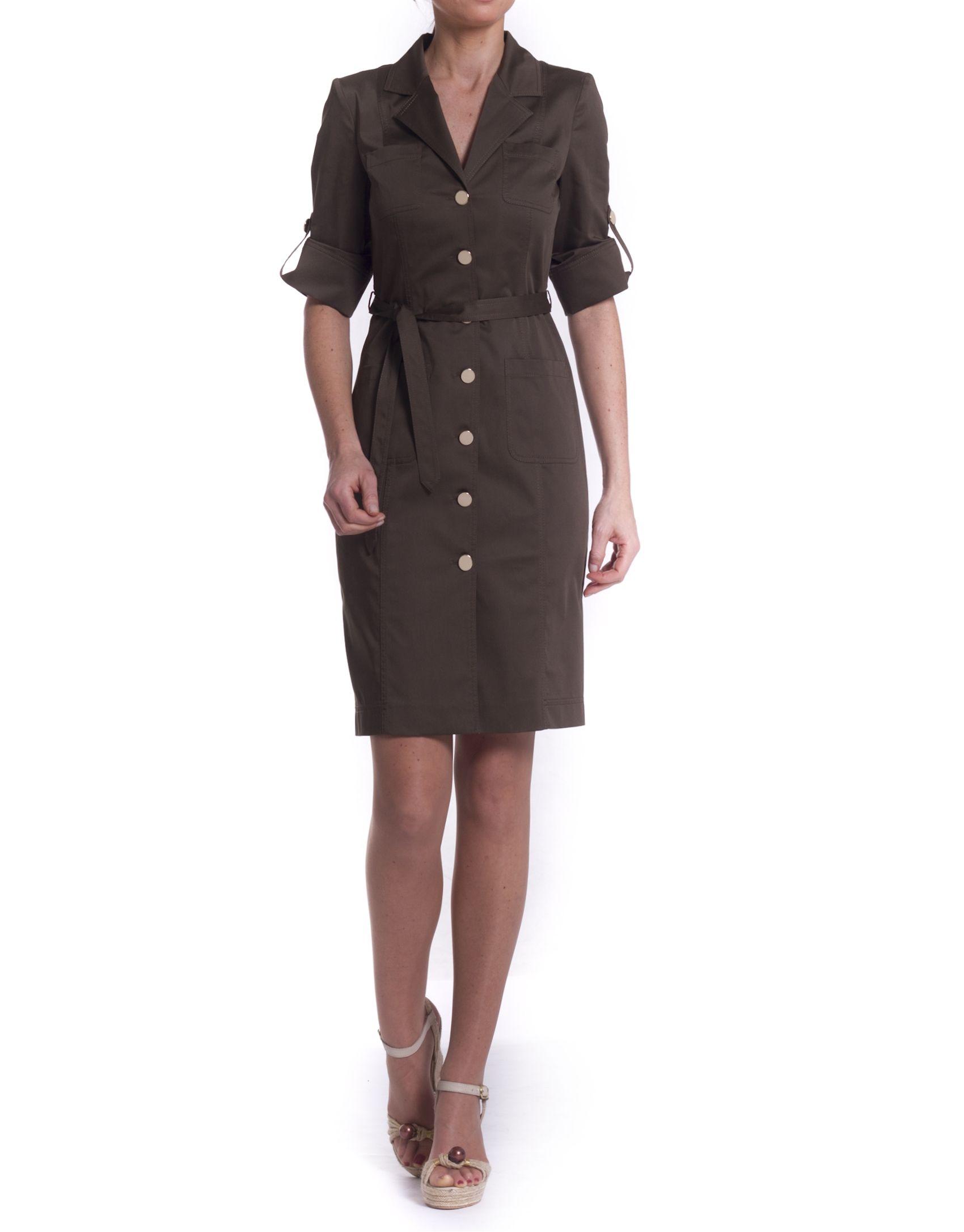 210aa9d5a vestido-camisero-caqui-manga-corta.jpg 1.700×2.173 píxeles Vestidos