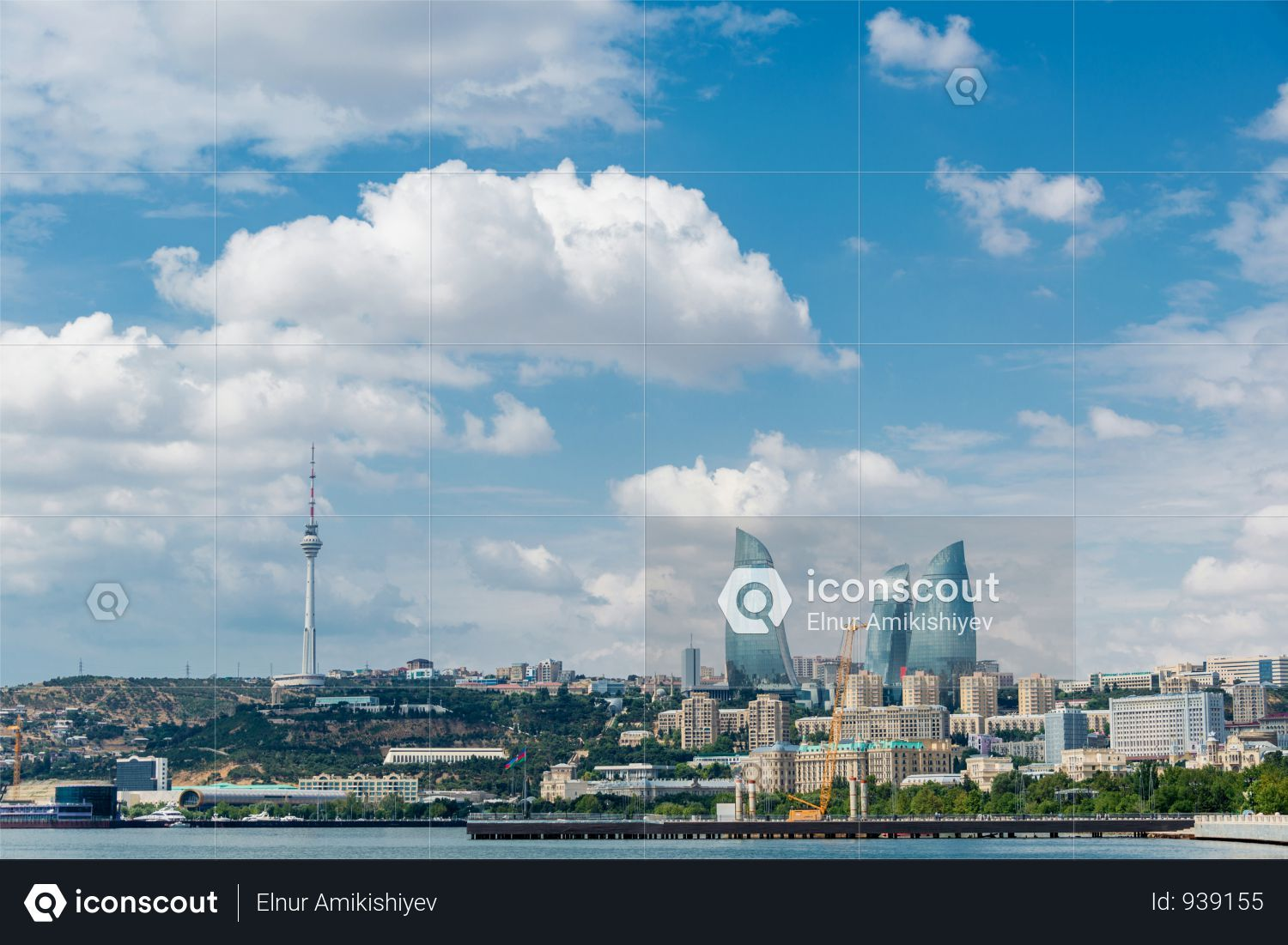 Premium Day View Of Baku Azerbaijan Architecture Photo Download In Png Jpg Format Architecture Photo Photo Baku Azerbaijan