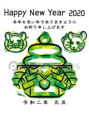 {title}(画像あり) 新年のグリーティングカード, 年賀状, ねずみ年