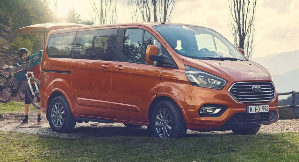Ford Tourneo Custom Gains 2 0l Ecoblue Diesels With Optional Mild Hybrid Ford Diesel Ford Transit