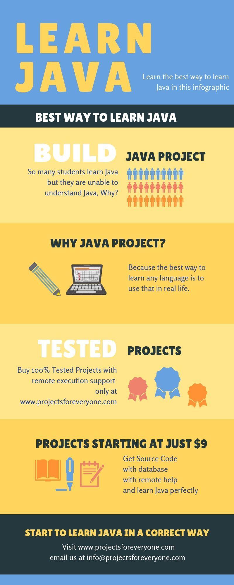 Learn Java the correct way Logistics management