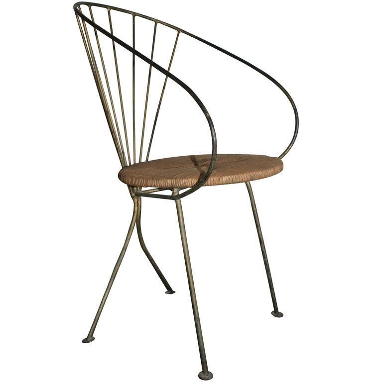 Wrought Iron Side Chair With Images Wrought Iron Chairs