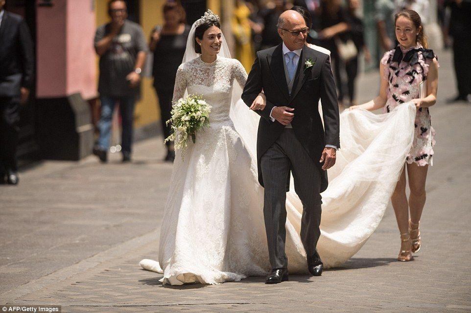 Kate Moss attends lavish wedding of Prince Christian of Hanover ...