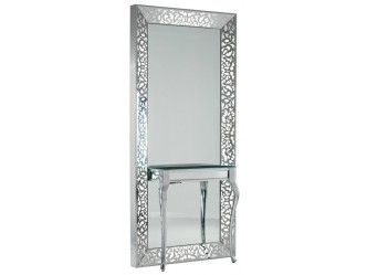 La Scala Mirror Styling Unit With Light And Table Louise Styling Unit Salon Design Styling Stations Salon Furniture