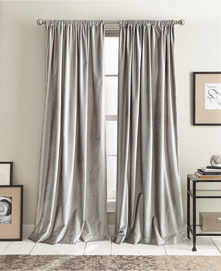 Dkny Closeout Modern Velvet 50 X 108 Curtain Set Reviews