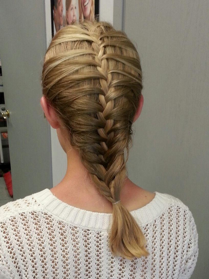 6th Grade Graduate Cage Braid Cool Hairstyles Hair Styles Braids