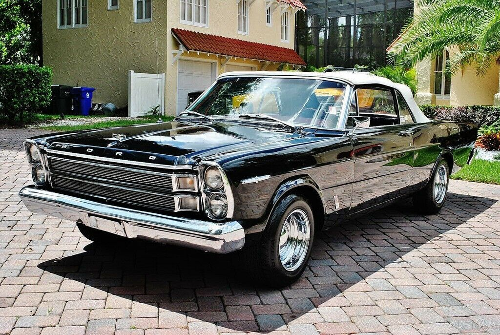 1966 Ford Galaxie 500xl Convertible 390 V8 4 Speed Ebay Ford Galaxie Galaxie Ford Galaxie 500