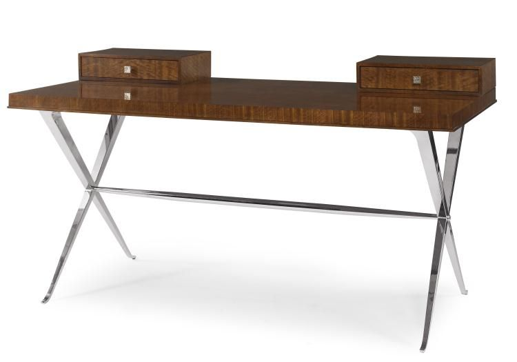 For Century Furniture Desk With Metal Base And Other Home Office Desks At Swann S In Tyler Tx