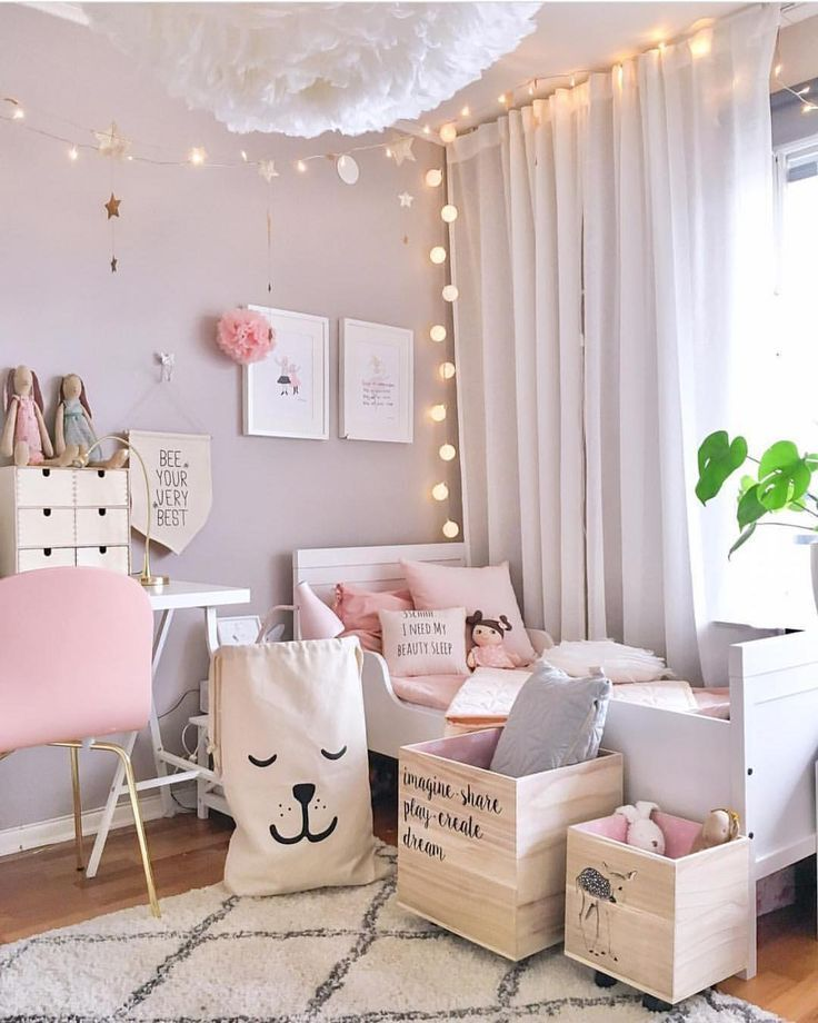 Wunderschönes Kinderzimmer für Mädchen. Girl room, Kid
