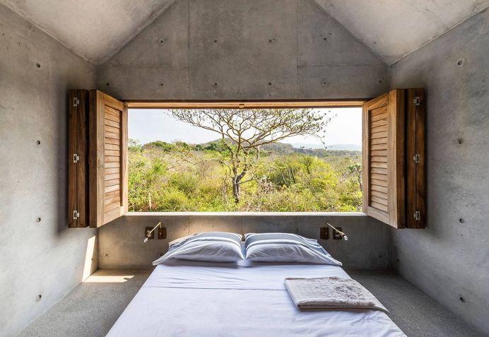 Tiny Concrete House in Interior Design