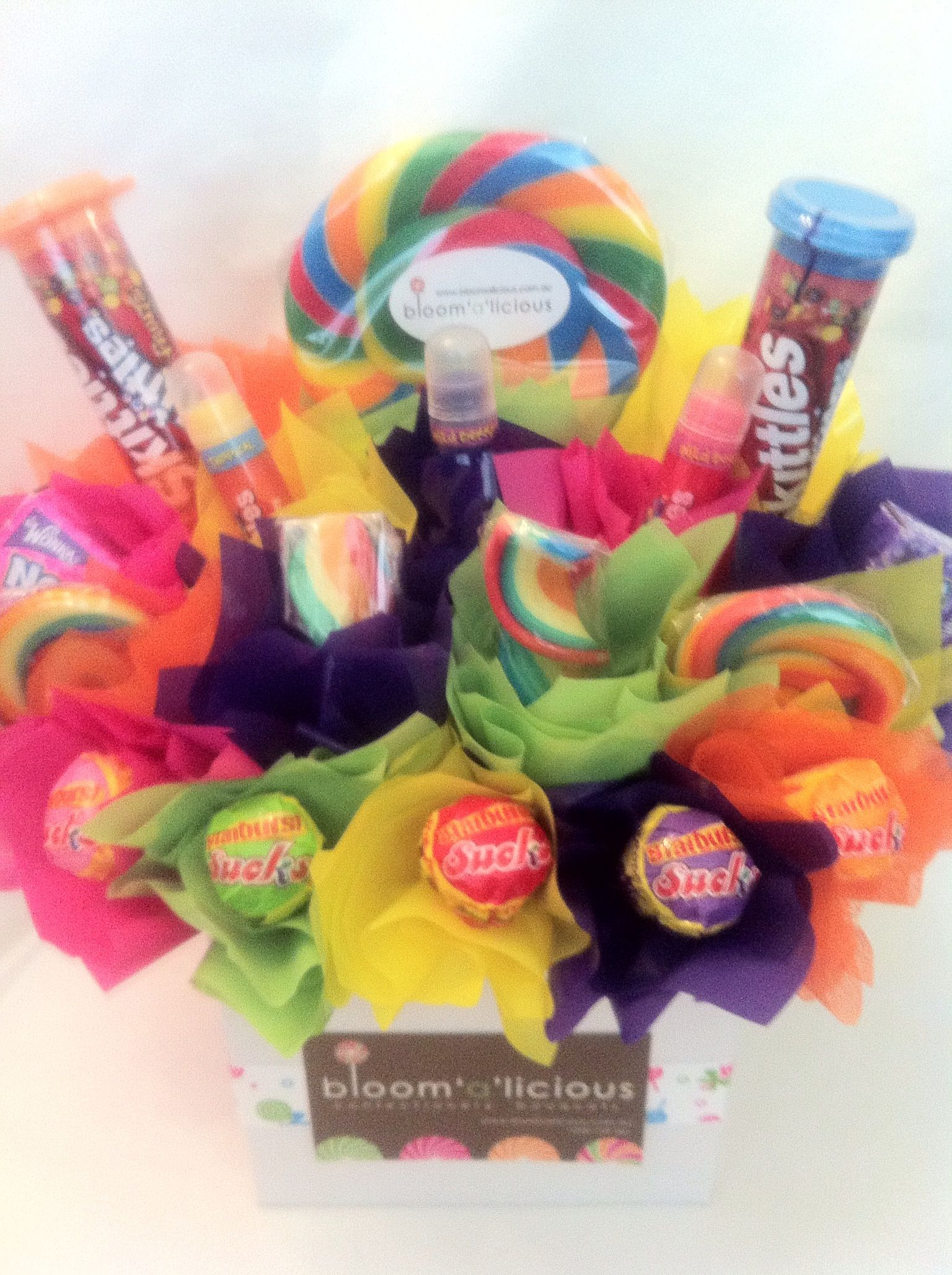 LOLLY BLOOM with Skittles Lip Smaker Lip Balms! Great for Tweens ...